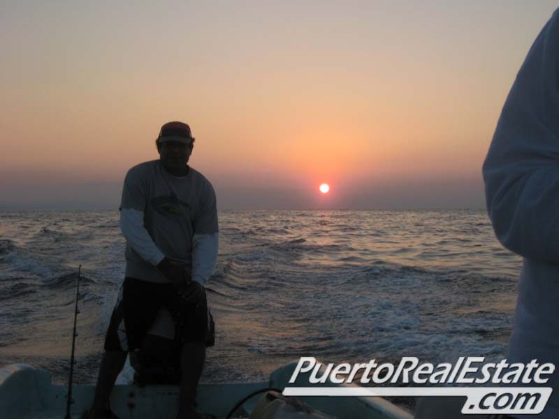 Sunrise fishing