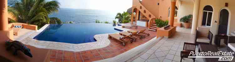 Oceanview swimming pool