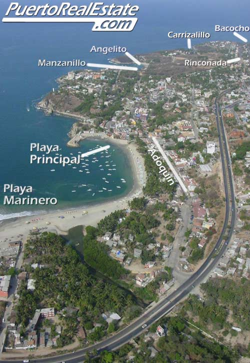 how to fly to puerto escondido